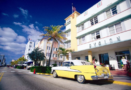 This Historic Art Deco District Of South Miami Beach Is Well Known For It S Chic Sidewalk Cafes Trendy Restaurants And Non Stop Partying